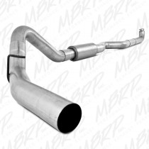 "2001-2007 Chevy/GMC 2500/3500 Duramax 4"" Down Pipe Back W/ Muffler"