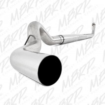 "1994-2002 Dodge 5"" Stainless Turbo Back, Single Side Exit"
