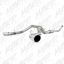 "1994-2002 Dodge 4"" Stainless Turbo Back Cool Duals™ (4WD only)"